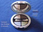 Eye shadow compact 4 colours x 2g Locherber EC1