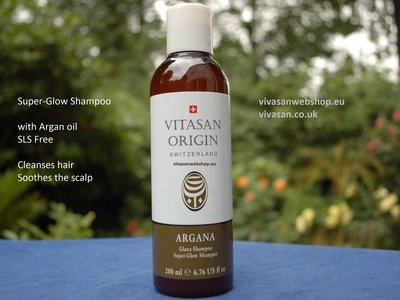 Super-Glow Shampoo Argana Vitasan Origin Vivasan