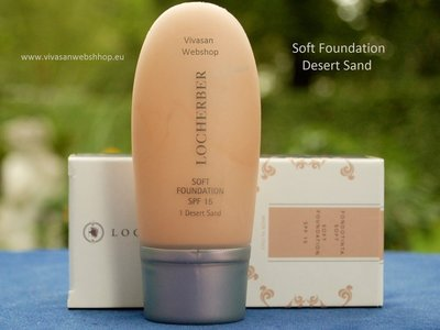 Locherber Soft Foundation Desert Sand 35ml FT1
