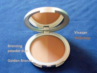 Locherber Bronzing Powder Duo Golden Bronze 10g BP2