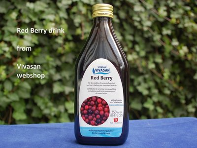 Red Berry - Cranberry drink - with vit. A,C,E, Lutein