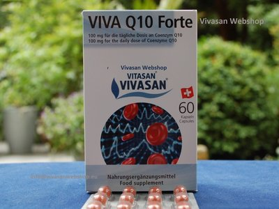 Viva q10 forte vivasan 60 capsules best price vivasan for Cosval sanotint