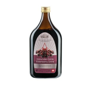 Vivasan Elderberry Drink is a natural drink with  elderberry and elderberry blossom extract