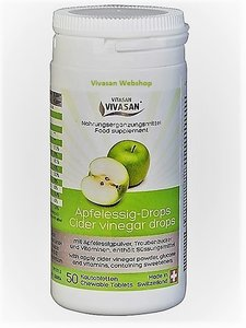 Cider Vinegar drops Vivasan Webshop
