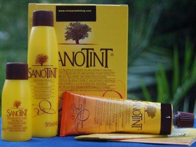 Sanotint Classic hair colour Blue Black nr. 17 125 ml