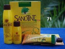 Black nr. 71 Haircolour Sensitive Sanotint PPD FREE 125ml