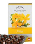 Relax capsules with St. John's wort and Vitamins Vivasan Webshop